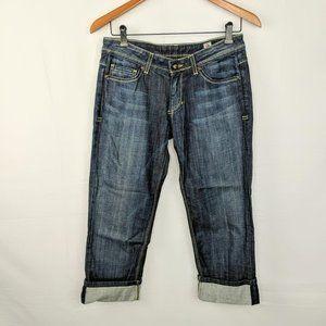 People's Liberation Irene Capri Cuffed Jeans